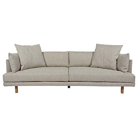 SOFA | vittoria iris 4-seater in stone by globewest
