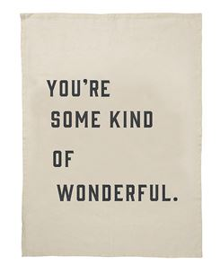 TEA TOWEL | You're some kind of wonderful by Pony Rider