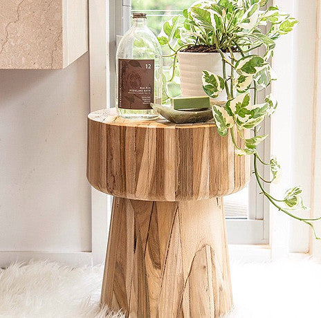 Side Table Stool Klop Design By Uniqwa