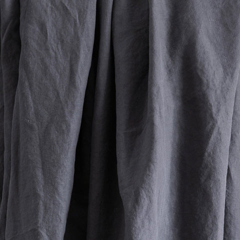 TABLE CLOTH | charcoal linen in three sizes by Cultiver
