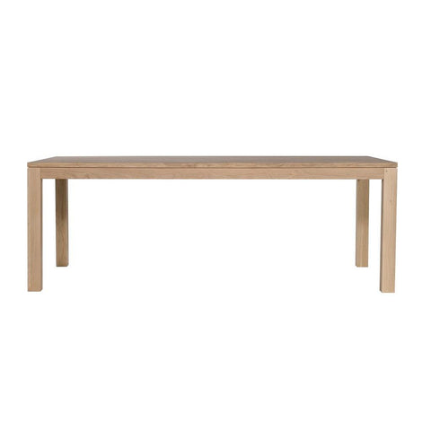 DINING TABLE | straight design ethnicraft oak by globewest