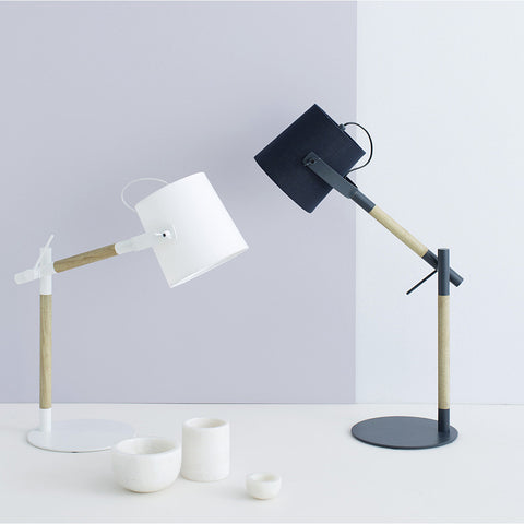 TABLE LAMP | norman in slate by milk + sugar