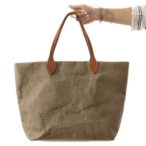 TOTE | olive 'paper' by uashmama