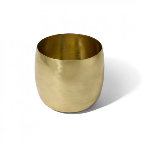 VESSEL | brass planter by Lightly