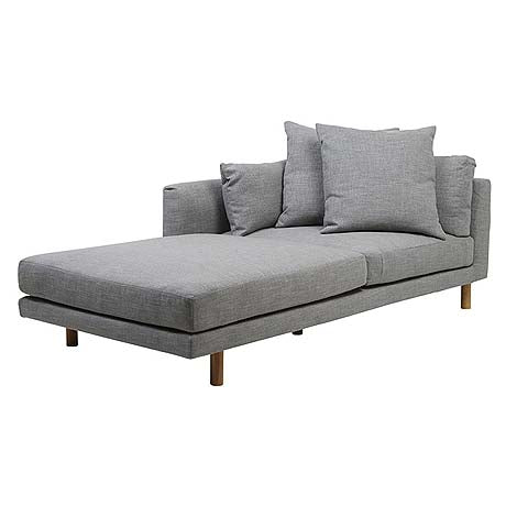 SOFA | vittoria iris chaise in pavement by globewest