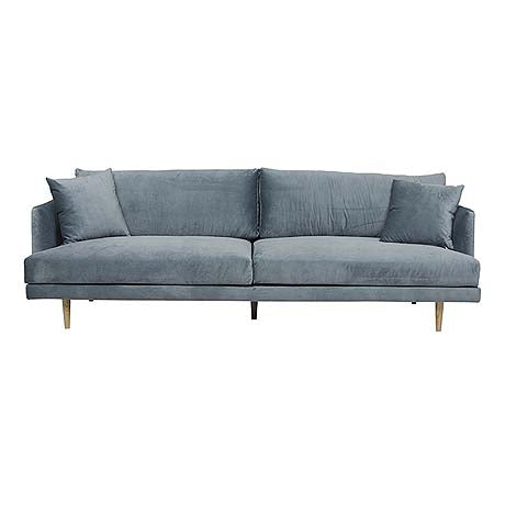 SOFA | vittoria mia 4-seater in blue-green velvet by globewest