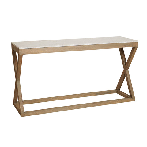 CONSOLE | Maine Marble Top by Canvas + Sasson