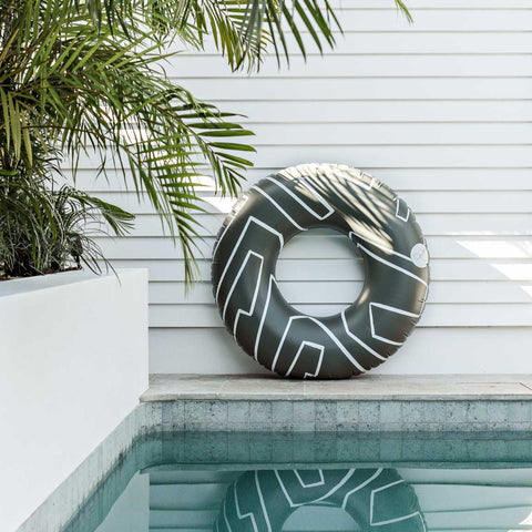 POOL TUBE | Abstract Army Green by &Sunday