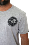 The Free Grey Marl Tee
