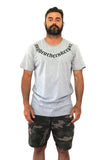 Andy Tattoo Gray Marl Tee