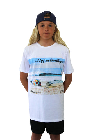 Our Home White Youth Tee