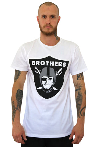 Brothers White Tee