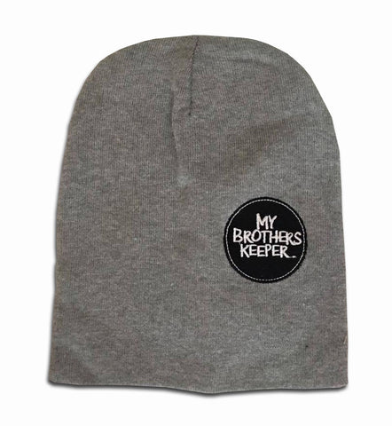 Graffiti Grey Marl Beanie