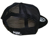 The Graffiti Black Trucker Cap