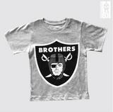 Brothers Grey Marl Youth Tee