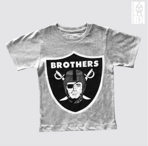 Brothers Grey Marl Infant Tee