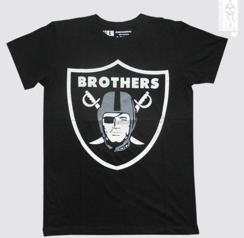 Brothers Black Infant Tee