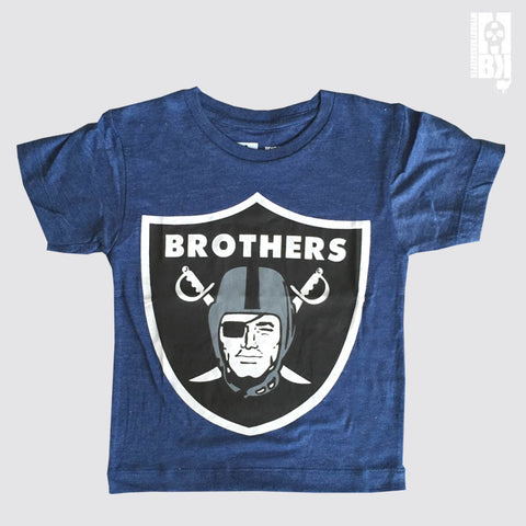 Brothers Navy Marl Youth Tee