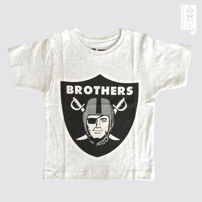 Brothers Pale Marl Youth Tee
