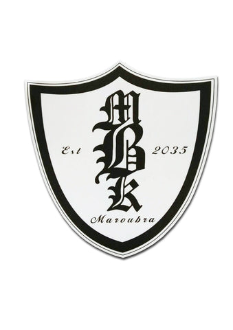 MBK Shield Sticker