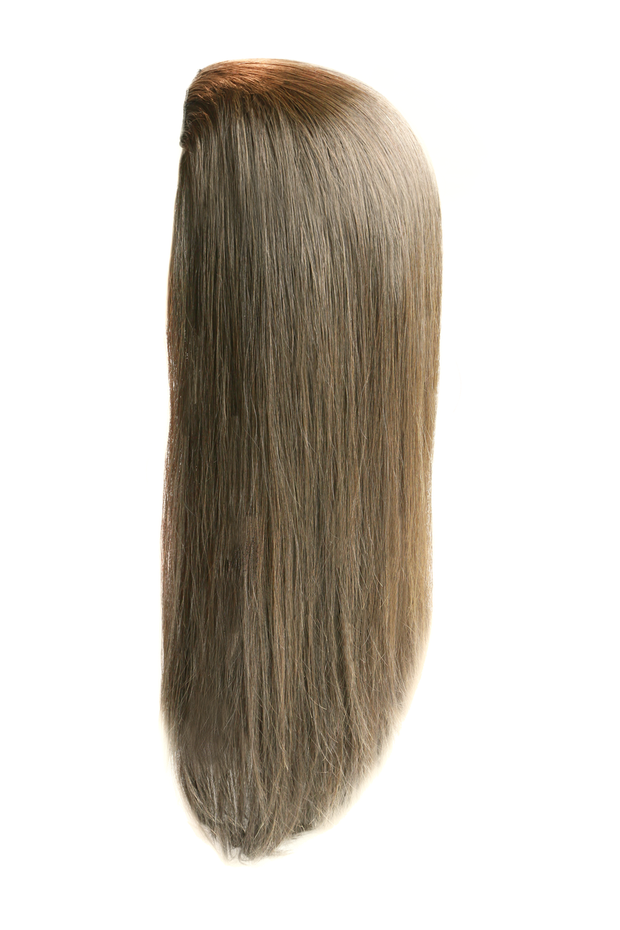 Mazali™ Gold Human Hair Band Fall (3/4 wig)