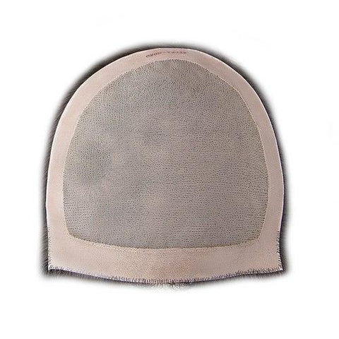 Monofilament Bondable Human Hair Women's Kippah Topper