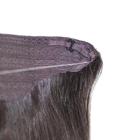 All-In-One Human Hair Extension | Wire Extension (No Clips)