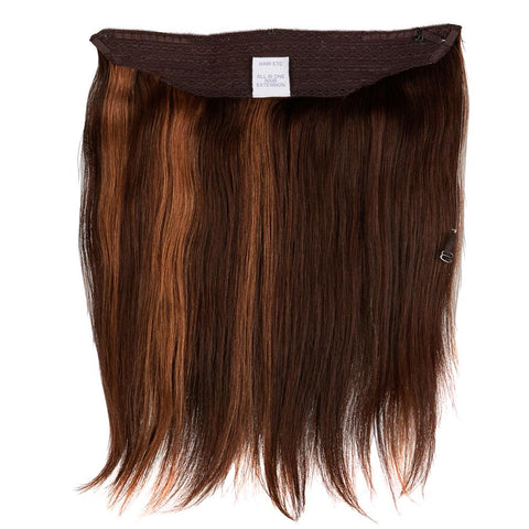 Hair Etc. All-In-One Hair Extension | Wire Extension (No Clips) 16""