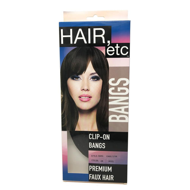 Hair Etc. Easy Clip-in Bangs