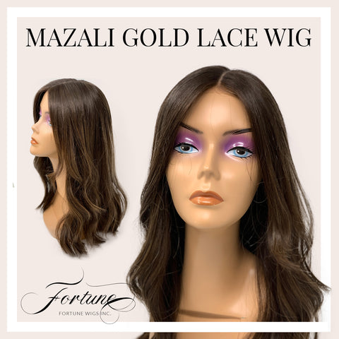 Mazali Gold Lace Human Hair - Custom Order Wig