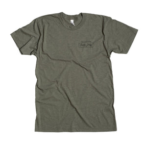 The Flagship Shirt - Olive Heather