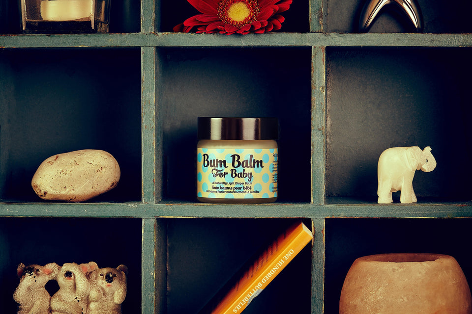 Bum Balm for Baby - Soothes • Protects • Baby Eczema