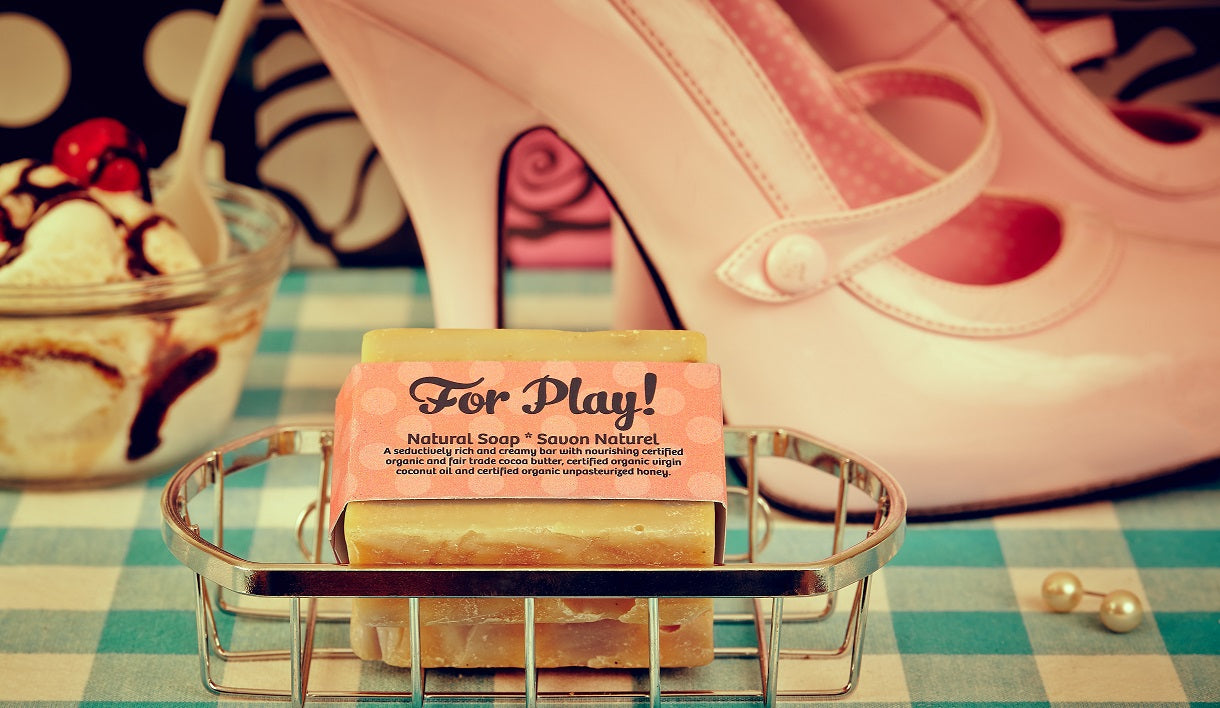 For Play! Natural Soap Bar