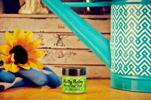 Hotty Hands & Feet Cedar Balm - Very Dry Cracked Skin • Cuticles