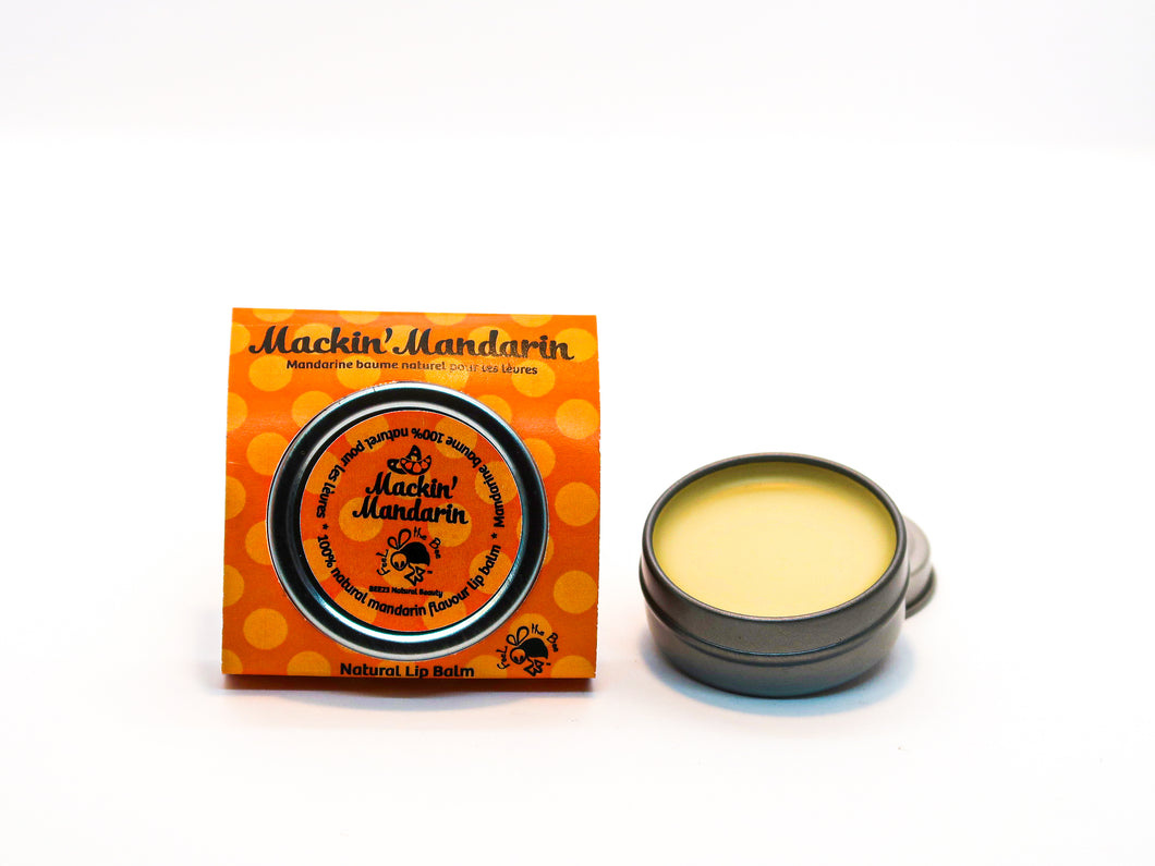 Mackin' Mandarin Natural Lip Balm Wholesale