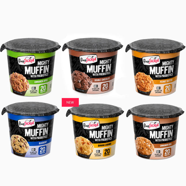 Muffin Pack Proteína y Probióticos - 55g