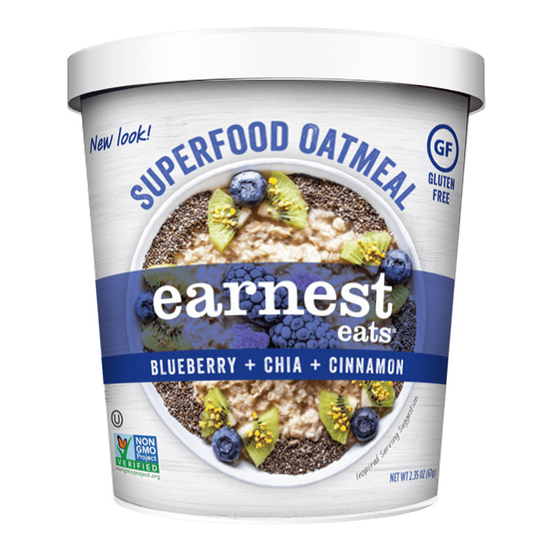 blueberry chia oatmeal earnest eats biaa