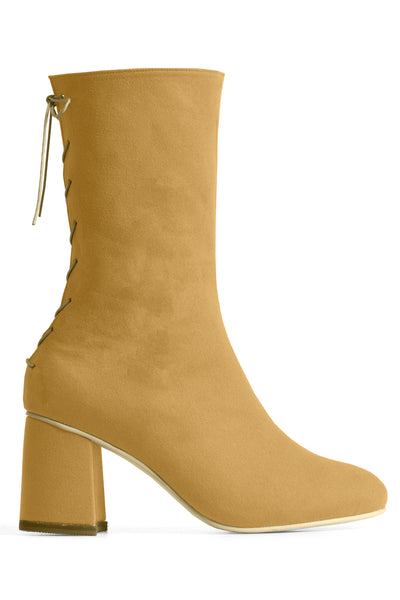 CONVERTIBLE MIDI SOCK BOOT – SAHARA