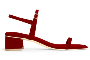 THE MILLI SANDAL – RUBY