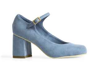 THE SKIPPER HEEL – AZUR