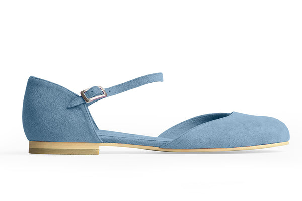 MARY-JANE BALLET FLAT – AZUR