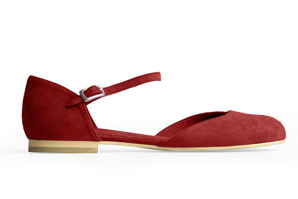 MARY-JANE BALLET FLAT – RUBY