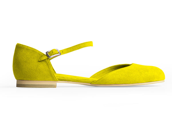 MARY-JANE BALLET FLAT – CITRINE