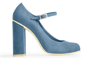 MARY-JANE PUMP – AZUR