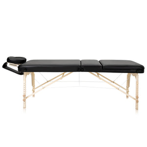 Dr.Lomilomi 101 Maple 3-Section Portable Massage Table - ONA