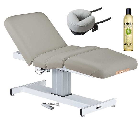 EarthLite EVEREST FULL ELECTRIC SALON Stationary Lift Massage Table
