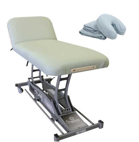 Custom Craftworks SIGNATURE SPA Hands Free Lift Back Electric Table