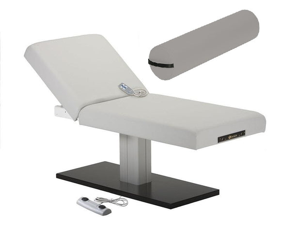 Earthlite EVEREST SPA ELECTRIC TILT Single Pedestal Electric Lift Table