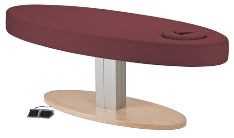 EarthLite EVEREST OVAL Single Pedestal Electric Lift Table
