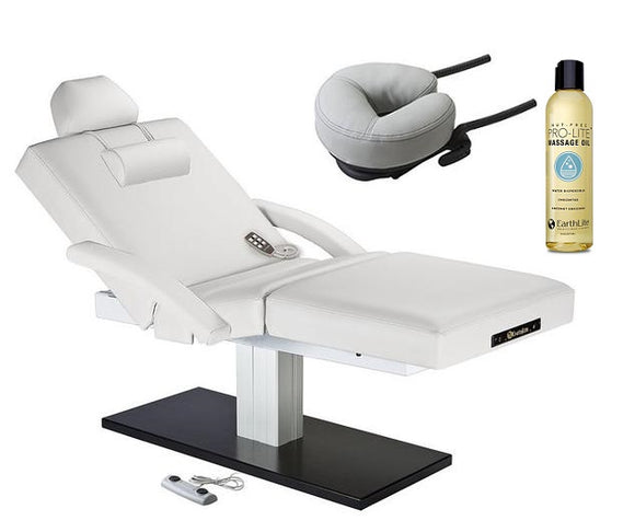 White EarthLite Everest SPA Salon FULL electric Salon top